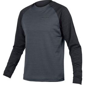 Endura SingleTrack LS Fleece Jersey Men black